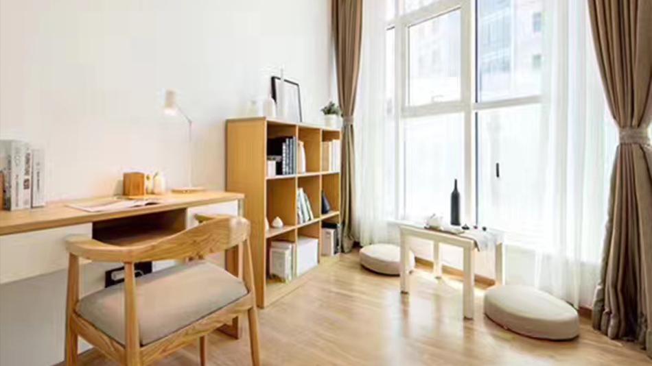 湾流公寓-欧时家具办公家具定制案例