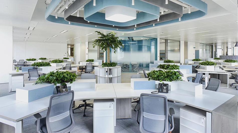 UPG公司-欧时家具办公家具定制案例