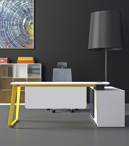 Q2系列经理桌-欧时家具