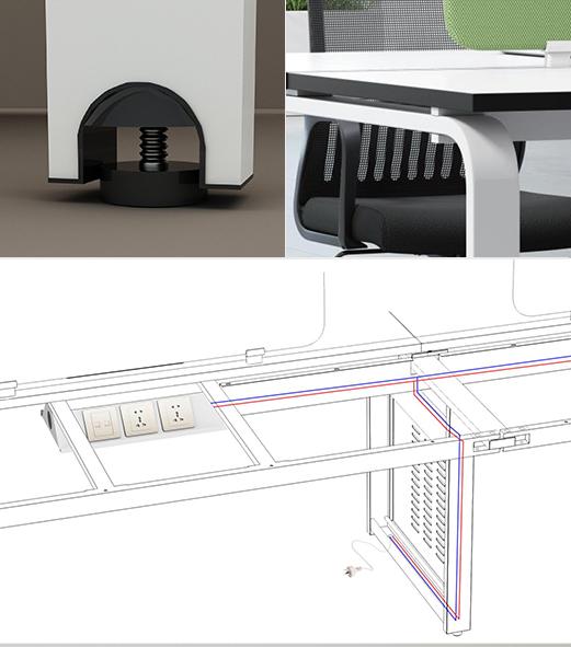 Q5职员办公系列-欧时家具