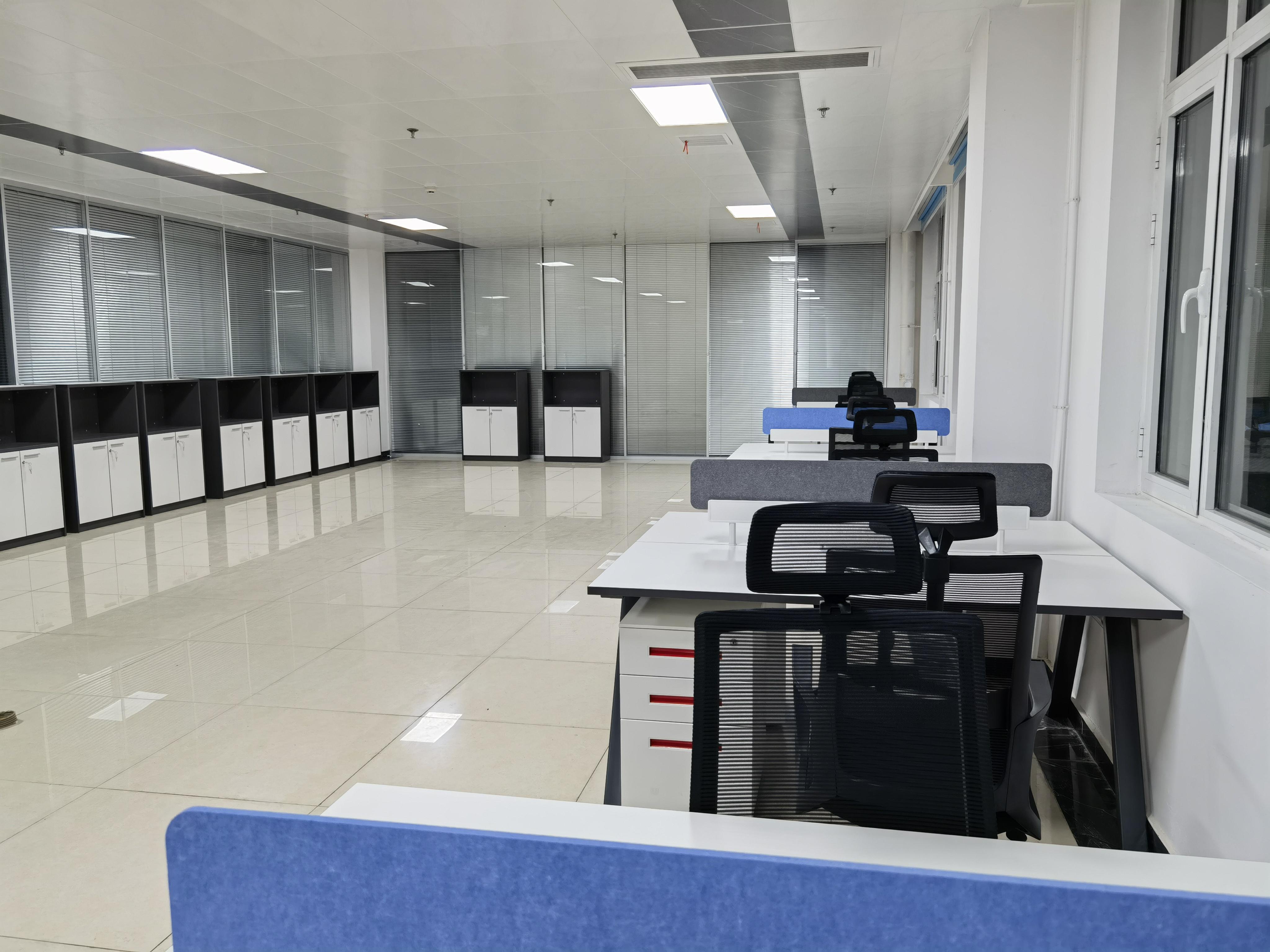 河北沧州某工厂办公楼项目-欧时家具办公家具定制案例
