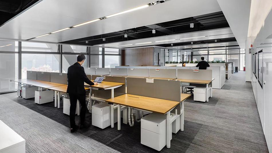 金地集团-欧时家具办公家具定制案例