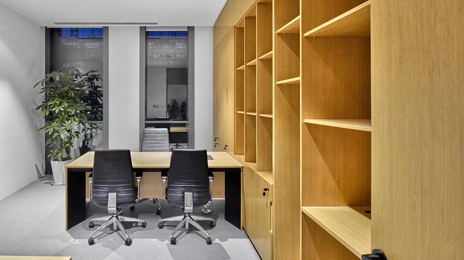 兴业金融-欧时家具办公家具定制案例