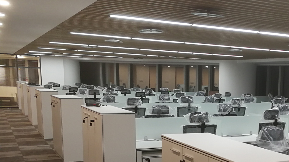 东方广场-欧时家具办公家具定制案例
