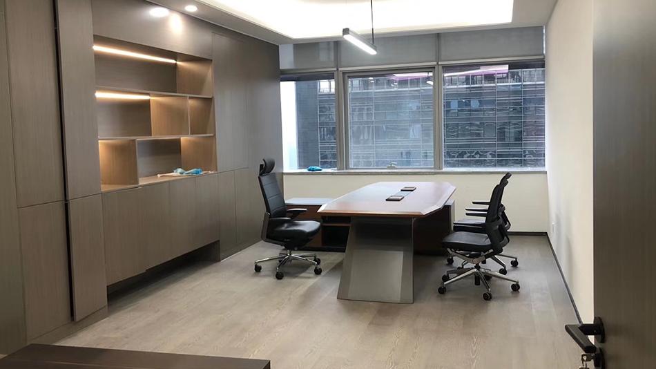 中建二局西南分公司-欧时家具办公家具定制案例