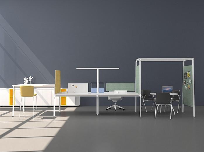 A6系列职员办公桌椅-欧时家具