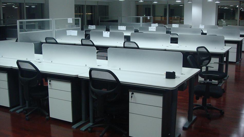 分众传媒-欧时家具办公家具定制案例