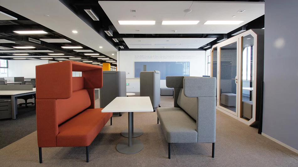 宝马研发中心-欧时家具办公家具定制案例