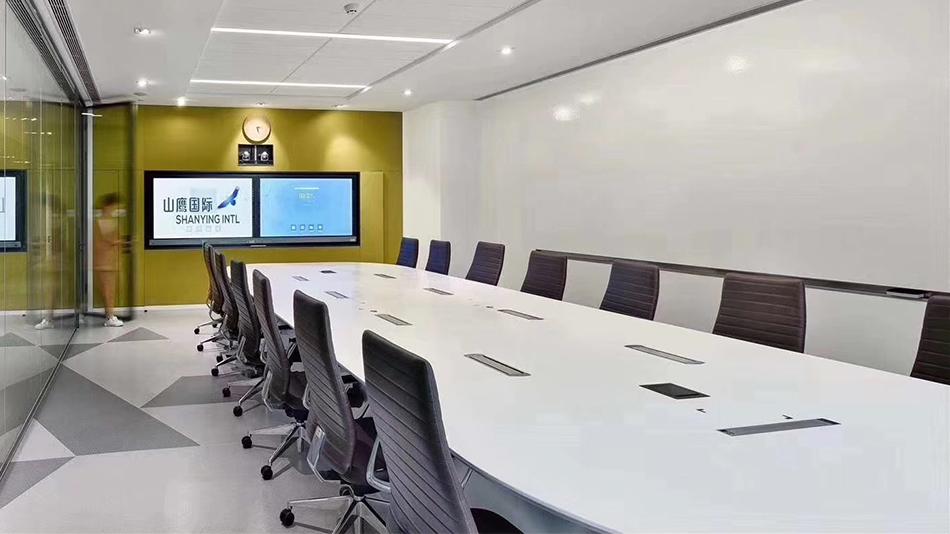 山鹰集团-欧时家具办公家具定制案例