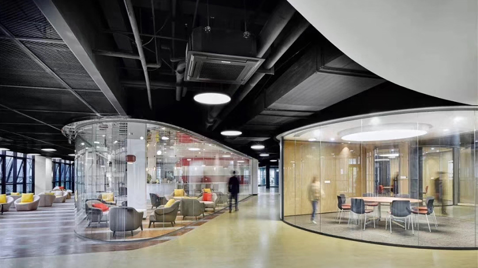 菲仕总部-欧时家具办公家具定制案例