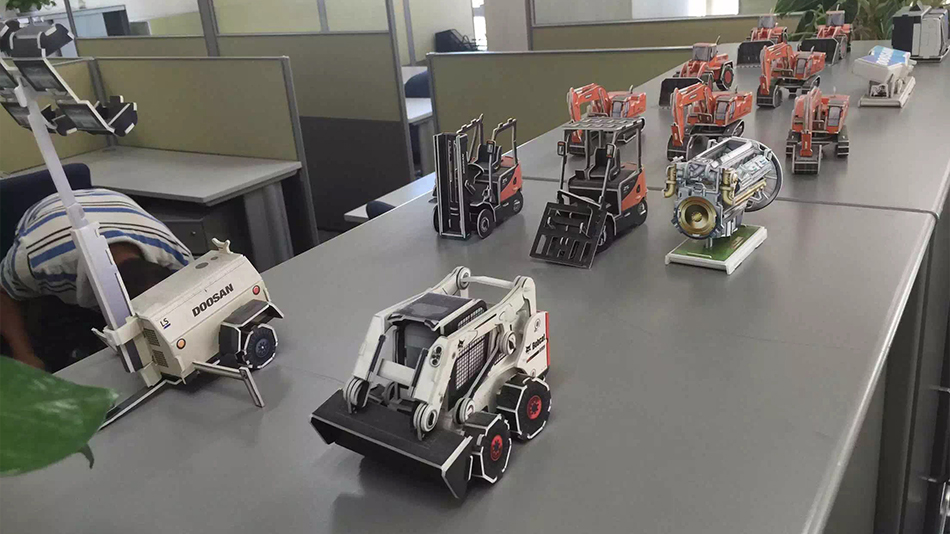 日本斗山机械-欧时家具办公家具定制案例