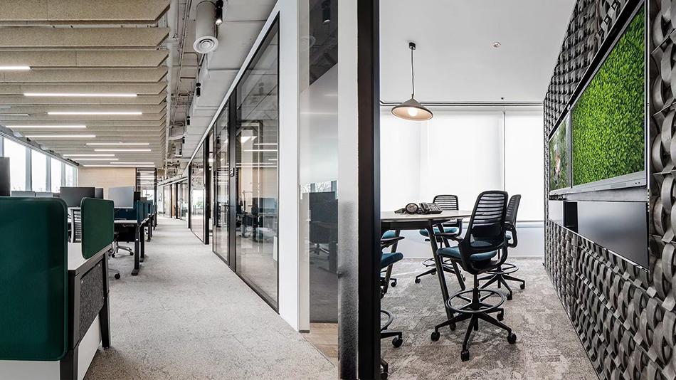 太古地产办公楼项目-欧时家具办公家具定制案例