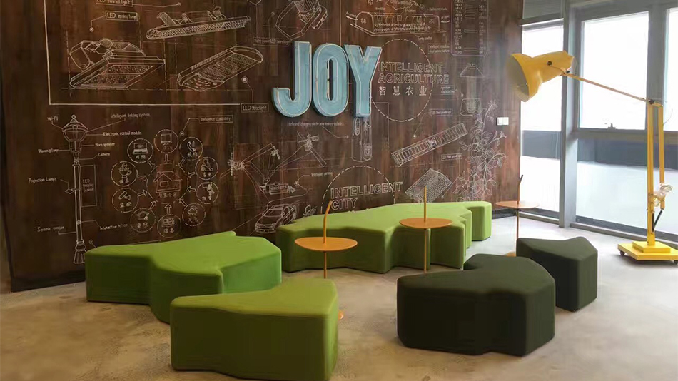 JOY公司-欧时家具办公家具定制案例