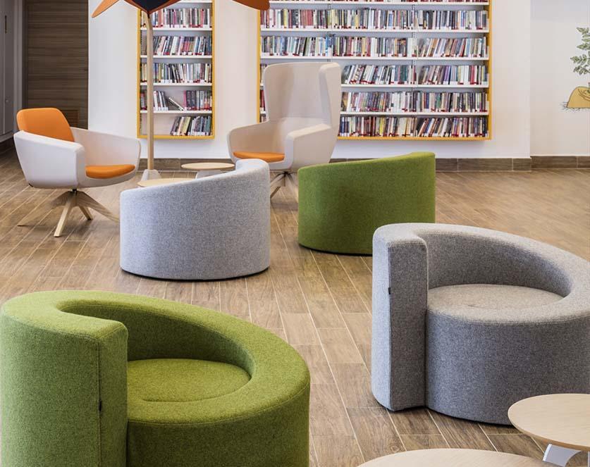 欧时面包系列沙发办公家具