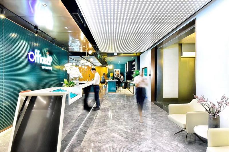 中海地产-欧时家具办公家具定制案例