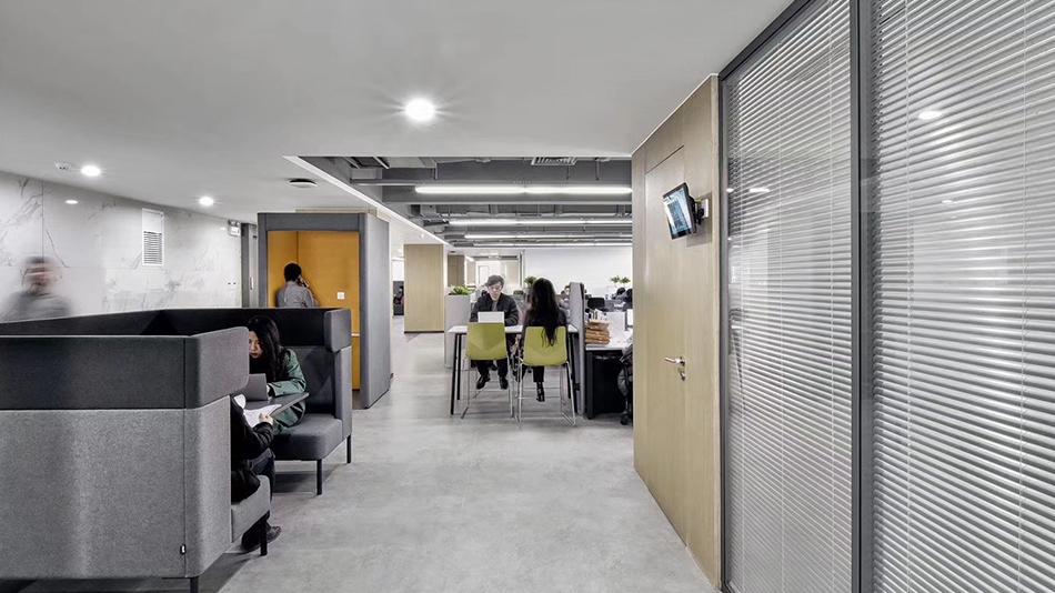 美好集团-欧时家具办公家具定制案例