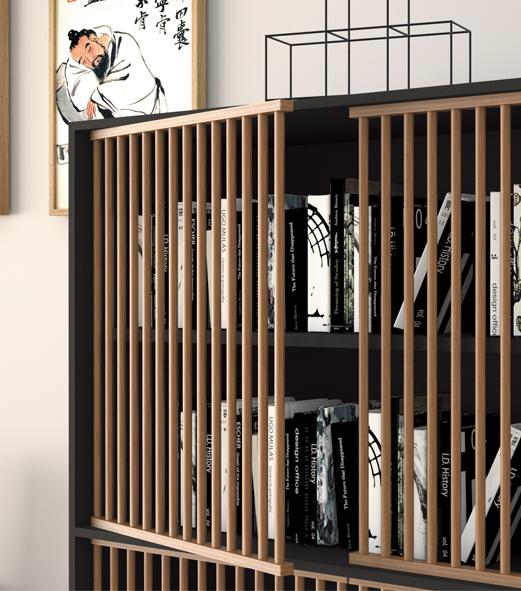 莱卡系列文柜-欧时家具