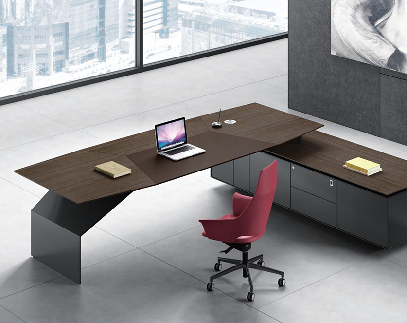 艾克系列老板桌-欧时家具
