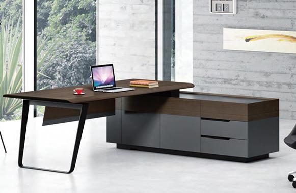 凯斯系列老板桌-欧时家具