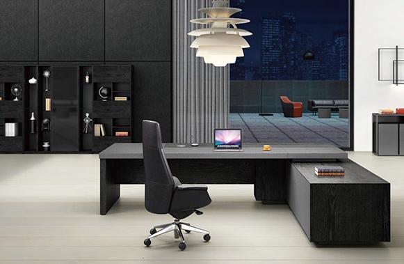 雷诺系列老板桌-欧时家具